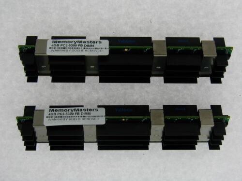 2X4GB 2.1 DDR2 667 FB MEMORY *with Apple Heatsink* FOR APPLE MAC PRO 1.1 8GB