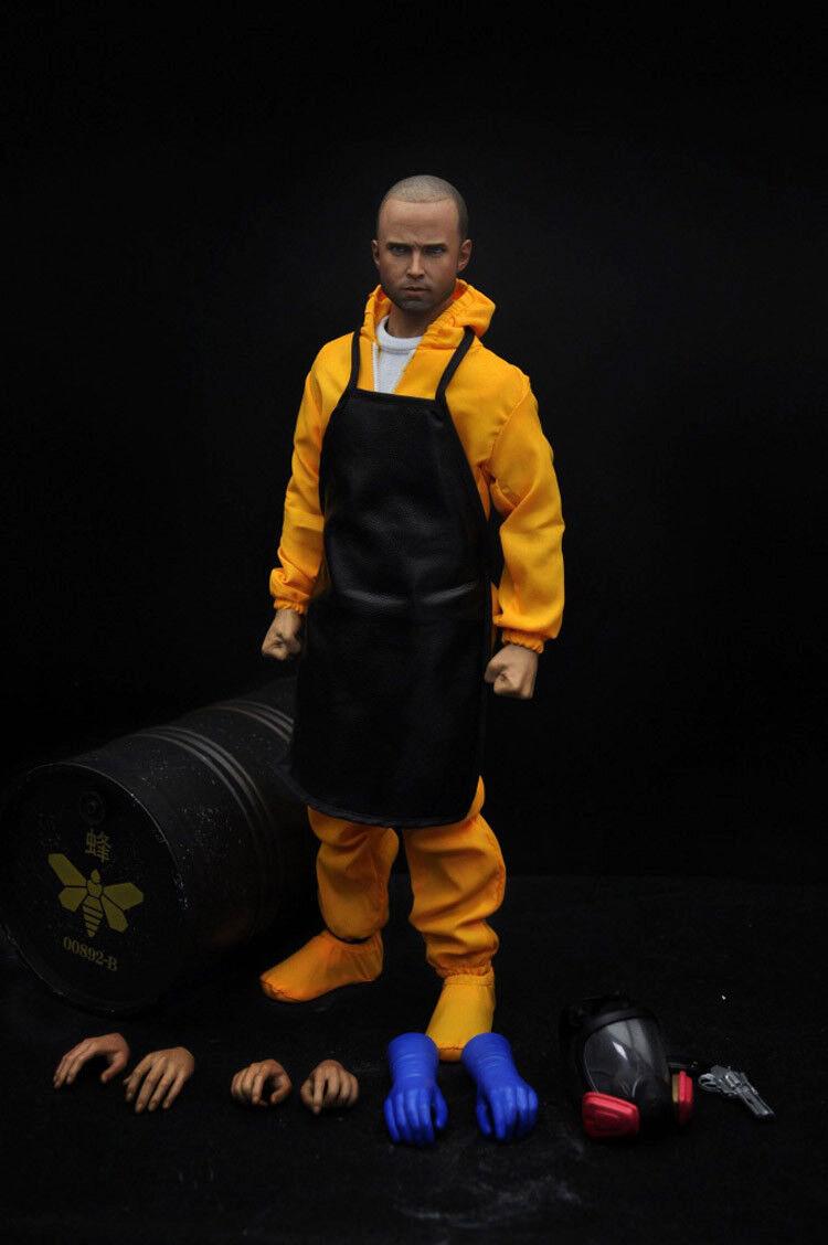 ELEVEN 1 6 US Drama Breaking Bad Chemistry Teacher Jesse Pinkman Action Figure