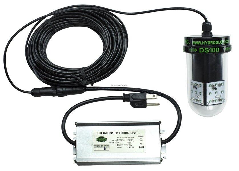 Neu  Hydro Glow Ds100 100w 120vac Unterwasser Dock Licht - Grün Sinkende Style