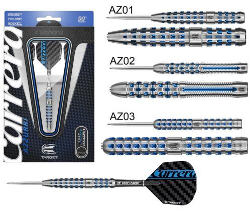 Carrera Azzurri 90% Tungsten Steel Tip Darts by Target Darts - 21g to 26g