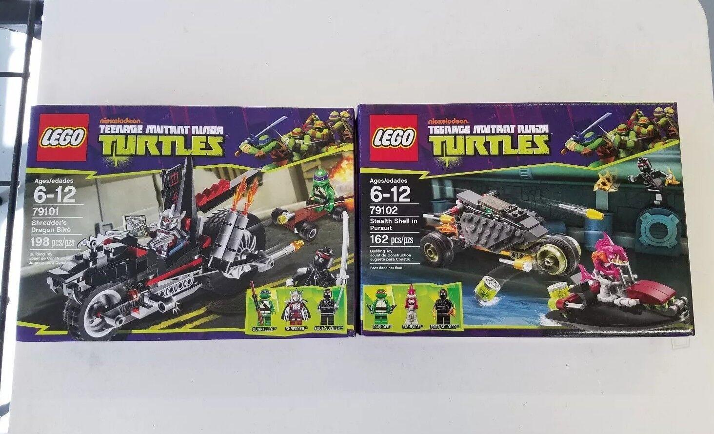 Lego New Teenage Ninja Mutant Ninja Teenage Turtles TMNT 79103and 79102 17fd1c
