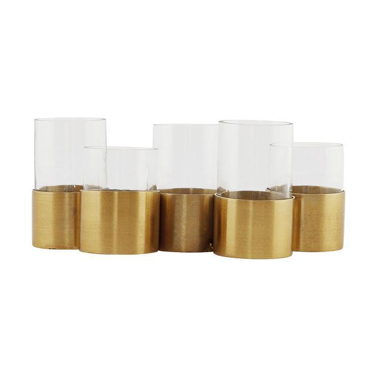 House Doctor Kerzenständer T5 für 5 Teelichter