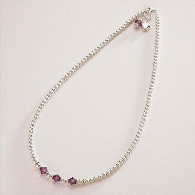 """Jo for Girls/"""" 18th cumpleaños /""""de plata esterlina colgante collar 16 pulgadas"""