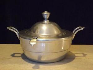 RWP-Wilton-Armetele-Pewter-Plough-Tavern-Covered-Soup-Tureen-w-Ladle