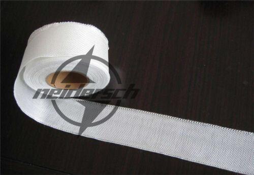 "1PCS Fiberglass Cloth Tape E-Glass 1/"" wide 27 Yards 25mmx25m Fiber Plain Weave"
