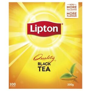 Lipton Black Tea Bags 100 Pack