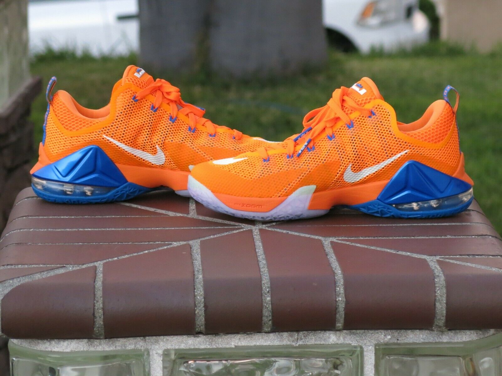 2015 Nike Lebron XII 12 Low Men's Men's Men's Basketball shoes 724557-838 3ce2e5