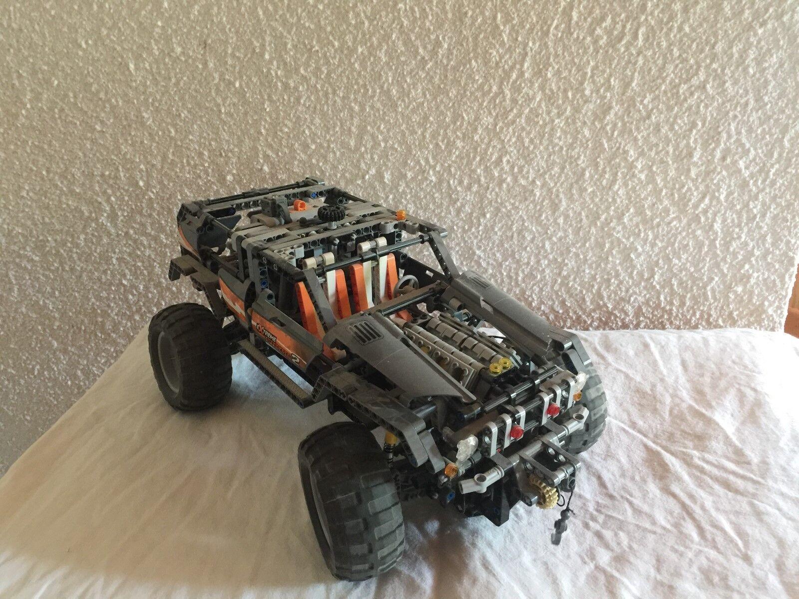 Verkaufe einen Lego technik Truc, Jeep - Lego 8297