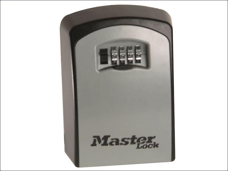Master Lock-Caja grande de Cerradura con llave montado en la parojo (hasta 5 Teclas celebrado)