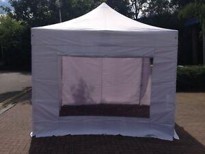 hot sales 72a29 79d93 Details about GZBO Express 40mm Pop Up Gazebo Aluminium Commercial Tent 3m  x 3m - 3m x 6m Size