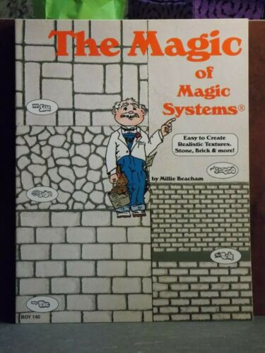Dollhouse Miniature Book Magic of Magic Systems Stone /& Brick P94 Dollys Gallery
