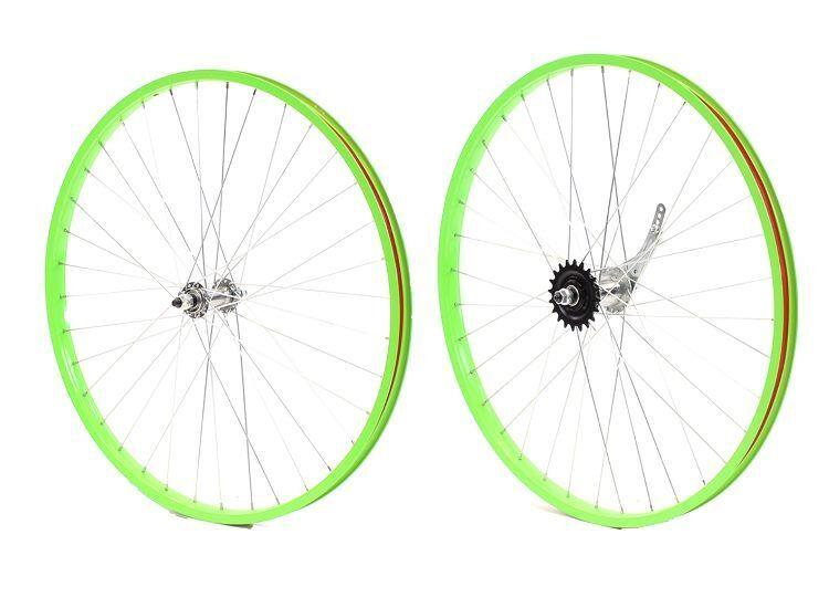 Beach Cruiser bike 26 x 25mm Wheels Wheelset Rims Green
