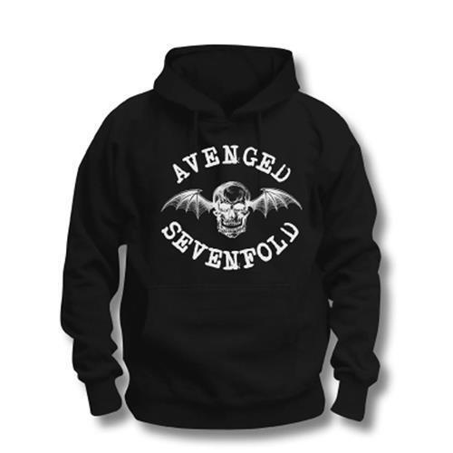 Avenged Sevenfold 'Logo' Pull Over Hoodie - Neu und Offiziell