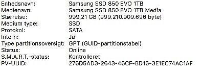 MacBook Pro, Late 2012, I7 2,6 Ghz GHz