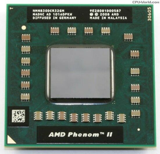AMD Phenom II x3 N830 2.1GHz 1.5MB s1 LP HMN830DCR32GM CPU