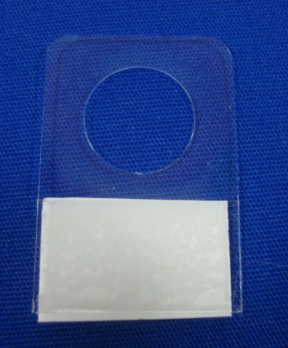 """3//8/"""" 200 Hole Style Hang Tab with Adhesive Hook Style Merchandise Price Tags"""