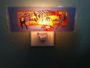 SUPERMAN-Arcade-Marquee-Night-Light
