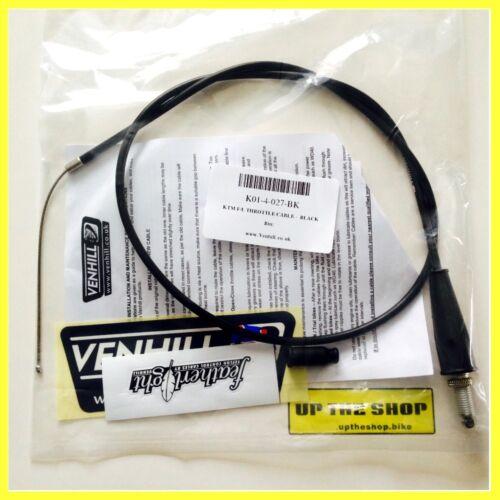 Suit KTM SX85 2003-2012 Venhill featherlight throttle cable K01-4-027