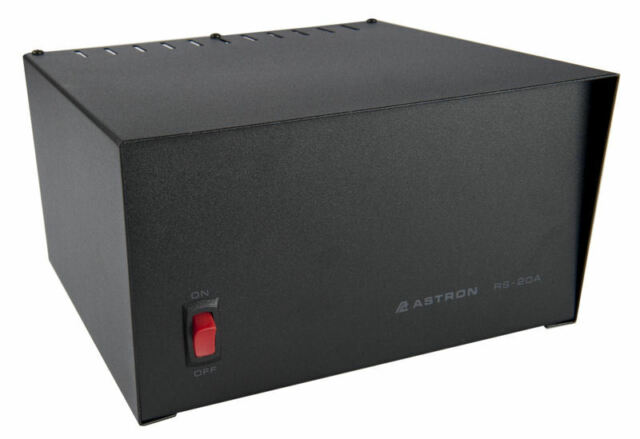 Astron RS-20A-BB 20 Amp DC Power Supply w//Battery Back Up