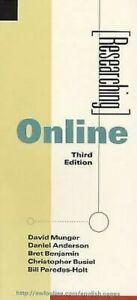 Recherche-Online-Livre-de-Poche-David-Munger