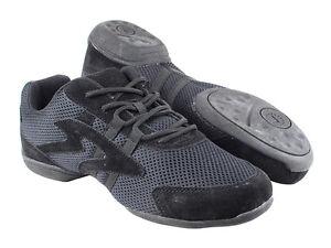 Dance Sneaker VFSN012 Low Profile Black