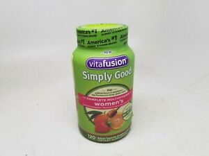 Best Womens Multivitamin 2021 Vitafusion Simply Good Women's Complete Multivitamin, 120 CT 04
