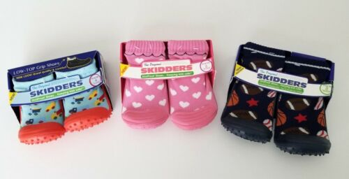 Skidders Original Shoes Skid Grip Proof Baby Toddlers 3 Varieties Sizes NEW