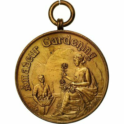 Amateur Gardening Fine #554978 United Kingdom Medal Merit In Horticulture With The Best Service