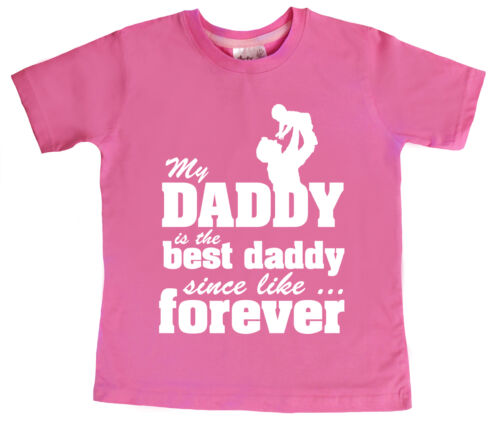 """Child/'s T Shirt /""""My Daddy is the Best Daddy/"""" Father/'s Day Gift"""