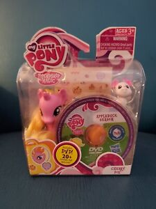 Rare My Little Pony Friendship Magic Cherry Pie with DVD!  By Hasbro 2011 Mint!
