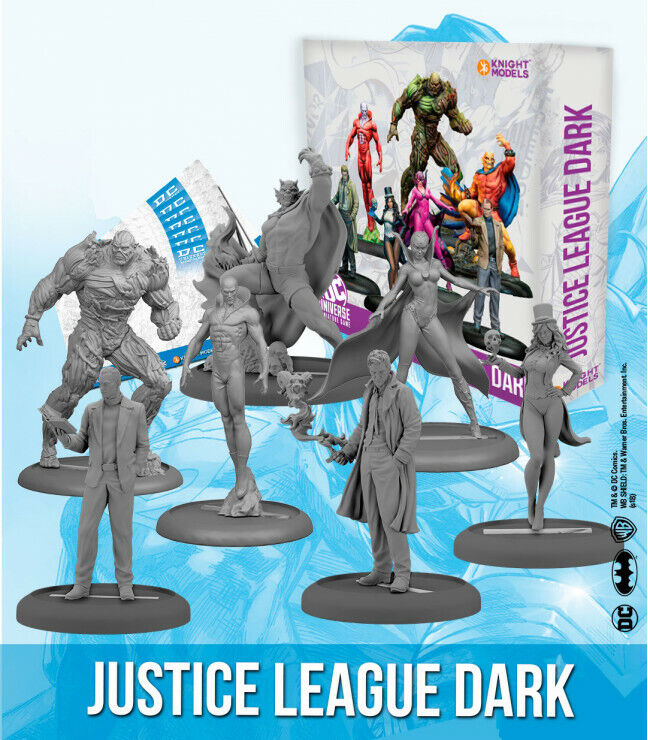 KNIGHT modelloS JUSTICE LEAGUE DARK DC BATuomo  nuovo  per il commercio all'ingrosso
