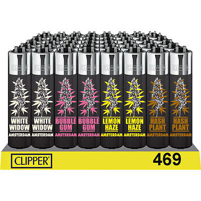 1 Full Box (48) Of Clipper Lighters (All Different) (Whatever On Stock)