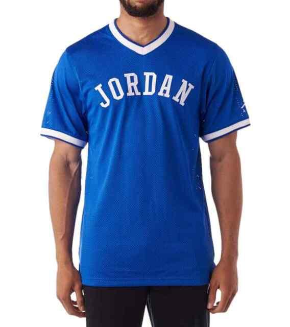 Nike Jordan Jumpman Mesh Jersey Blue