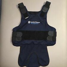 CARRIER for Kevlar Armor- MEDIUM Navy Blue- Smith & Wesson--- Bullet Proof Vest
