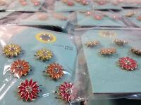 Jewelry Liquidation Target Lot 400- $1998 Value Women's Flower Earrings