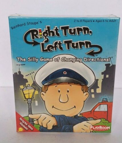 RIGHT TURN LEFT TURN GAME CHILDRENS LEFT RIGHT LEARNING GAME NEW SEALED FREE P&P