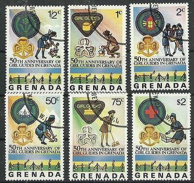 Briefmarken Grenada RüCksichtsvoll Grenada/ Pfadfinder Minr 758/63 O Duftendes Aroma