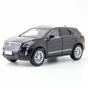 Cadillac-XT5-SUV-2020-1-32-Die-Cast-Modellauto-Spielzeug-Model-Sammlung-Schwarz