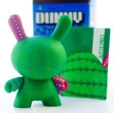 "Kidrobot Dunny 3"" Azteca Series 1 Artemio Cactus Green art figure toy"