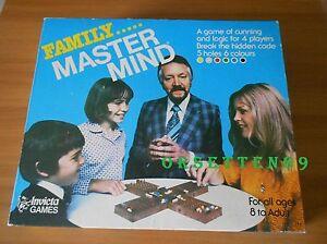 FAMILY MASTER MIND (1979) Gioco Vintage - Invicta Games - Variante a 4 Giocatori - Italia - FAMILY MASTER MIND (1979) Gioco Vintage - Invicta Games - Variante a 4 Giocatori - Italia