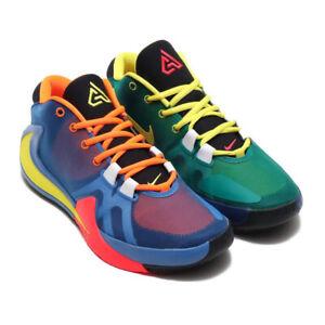 Details about Nike Zoom Freak 1 Multi Color Men's Basketball Shoes  CT8476-800