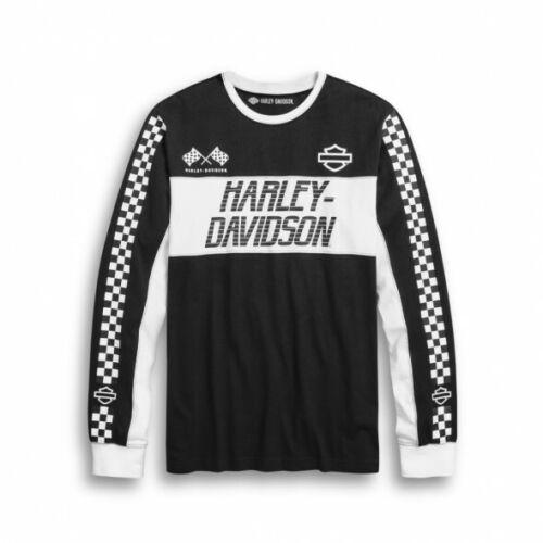 Genuine Harley-Davidson Men/'s #1 Race Jersey Tee
