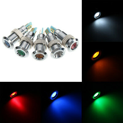 N 5 LED TONDO D=10mm ROSSO