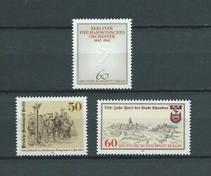 "BERLIN - 1981 YT 620 et 627 à 628 - NEUFS** MNH LUXE - France - Commentaires du vendeur : ""NEUF / MNH / POSTFRISCH LUXE"" - France"