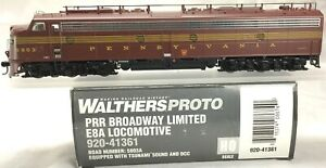 Proto-2000-PRR-Broadway-Limited-E8A-DCC-SOUND-HO-Scale-Out-of-Production