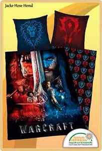 Bettwäsche Warcraft The Beginning Gr 135x200cm Neu Ebay