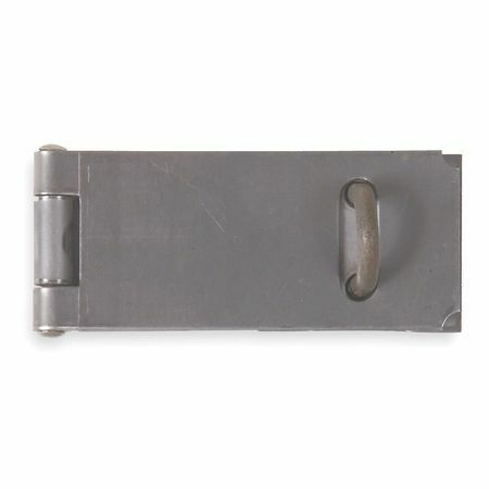 ZORO SELECT 4PE34 Safety Hasp,Steel,3-1//2 In L