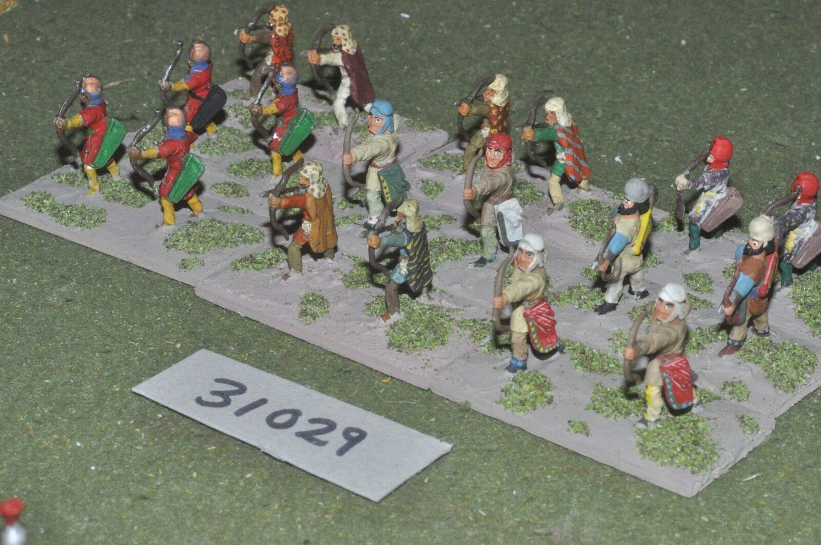 25mm classical   persian - archers 18 figures - inf (31029)