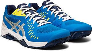Details zu Asics GEL CHALLENGER 12 CLAY Herren Outdoor Tennisschuhe 1041A048 400 blau