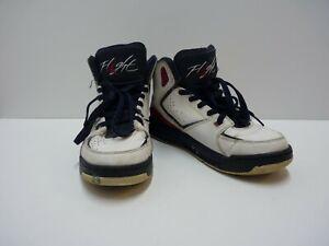 aaa692ba29 Nike Flight Air Jordan 5.5Y Red White Blue High Top Athletic Shoes ...
